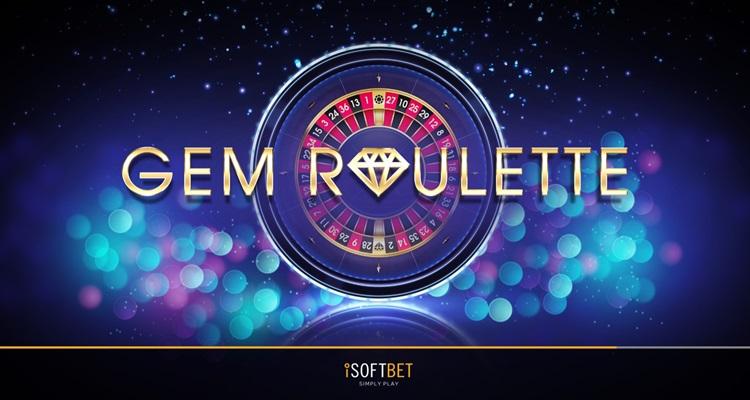 """iSoftBet präsentiert den """"einzigartigen Twist"""" des klassischen Casinos mit dem neuen Gem Roulette Tischspiel"""